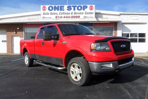 2004 Ford F-150 for sale at One Stop Auto Sales, Collision & Service Center in Somerset PA