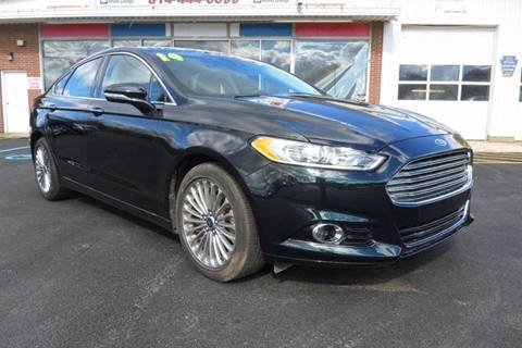 2014 Ford Fusion for sale in Somerset, PA