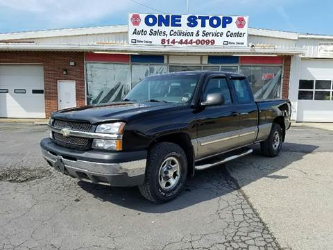 2003 Chevrolet Silverado 1500 for sale in Somerset, PA