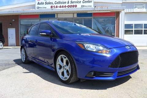 2014 Ford Focus for sale at One Stop Auto Sales, Collision & Service Center in Somerset PA