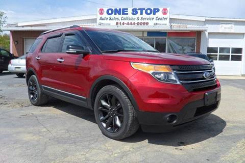 2013 Ford Explorer for sale at One Stop Auto Sales, Collision & Service Center in Somerset PA