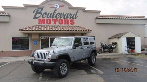 2013 Jeep Wrangler Unlimited for sale in St George, UT