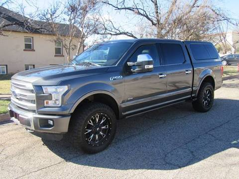 2015 Ford F-150 for sale at Boulevard Motors in St George UT