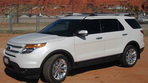 2014 Ford Explorer for sale at Boulevard Motors in St George UT