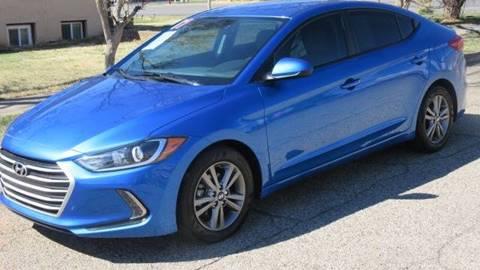 2017 Hyundai Elantra for sale at Boulevard Motors in St George UT