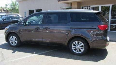 2017 Kia Sedona for sale at Boulevard Motors in St George UT