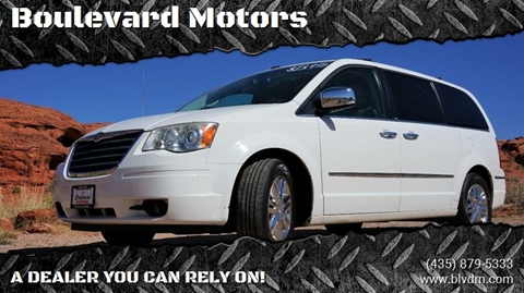 2010 Chrysler Town and Country for sale at Boulevard Motors in St George UT