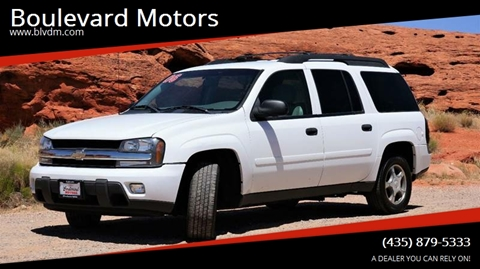 2006 Chevrolet TrailBlazer EXT for sale at Boulevard Motors in St George UT