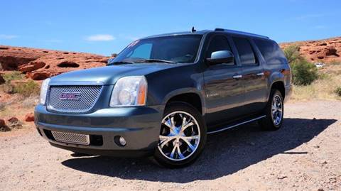 2007 GMC Yukon XL for sale at Boulevard Motors in St George UT