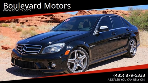 2009 Mercedes-Benz C-Class for sale at Boulevard Motors in St George UT