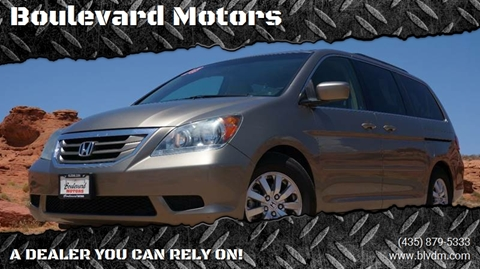 2008 Honda Odyssey for sale at Boulevard Motors in St George UT