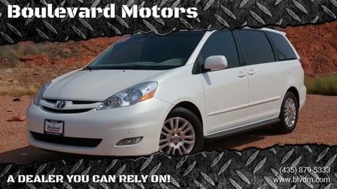 2009 Toyota Sienna for sale at Boulevard Motors in St George UT