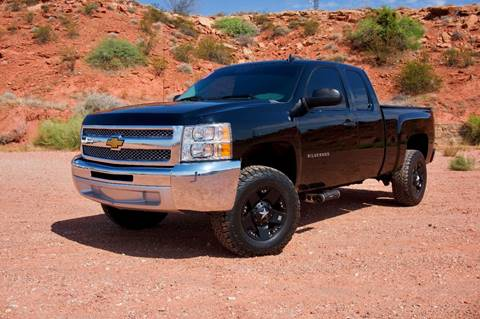 2013 Chevrolet Silverado 1500 for sale at Boulevard Motors in St George UT