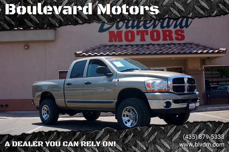 2006 Dodge Ram Pickup 2500 for sale at Boulevard Motors in St George UT
