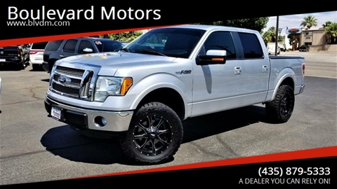 2011 Ford F-150 for sale at Boulevard Motors in St George UT