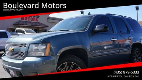 2008 Chevrolet Tahoe for sale at Boulevard Motors in St George UT
