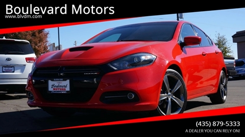 2016 Dodge Dart for sale at Boulevard Motors in St George UT
