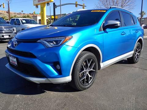 2016 Toyota RAV4 for sale at Boulevard Motors in St George UT