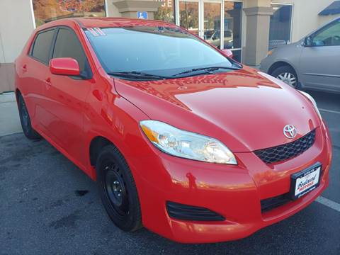 2011 Toyota Matrix for sale at Boulevard Motors in St George UT
