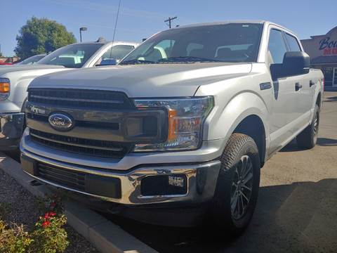2018 Ford F-150 for sale at Boulevard Motors in St George UT