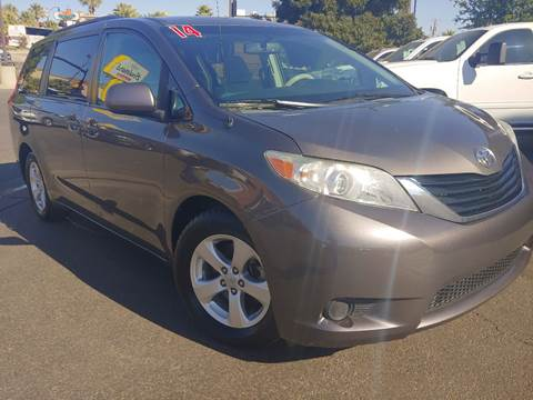 2014 Toyota Sienna for sale at Boulevard Motors in St George UT