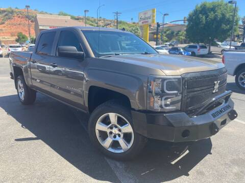 2014 Chevrolet Silverado 1500 for sale at Boulevard Motors in St George UT