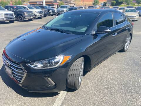2017 Hyundai Elantra for sale at Boulevard Motors in St George UT