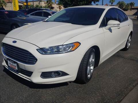 2016 Ford Fusion for sale at Boulevard Motors in St George UT