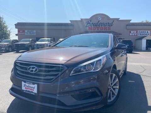 2016 Hyundai Sonata for sale at Boulevard Motors in St George UT
