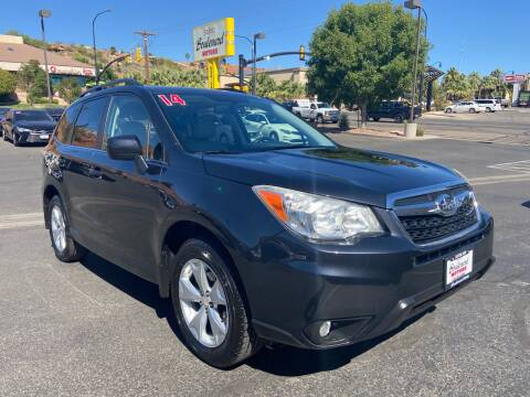 2014 Subaru Forester for sale at Boulevard Motors in St George UT