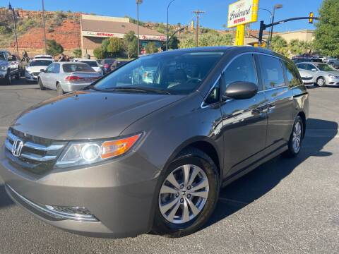 2017 Honda Odyssey for sale at Boulevard Motors in St George UT