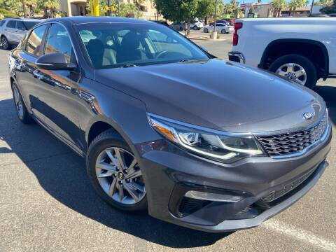 2019 Kia Optima for sale at Boulevard Motors in St George UT