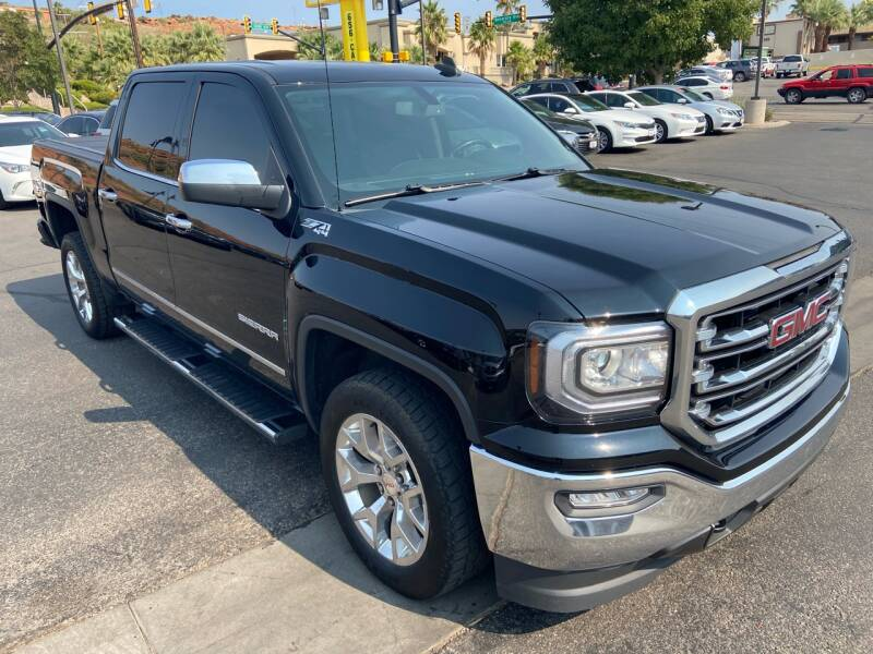 2017 GMC Sierra 1500 for sale at Boulevard Motors in St George UT