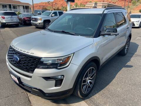 2019 Ford Explorer for sale at Boulevard Motors in St George UT