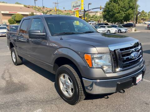 2012 Ford F-150 for sale at Boulevard Motors in St George UT