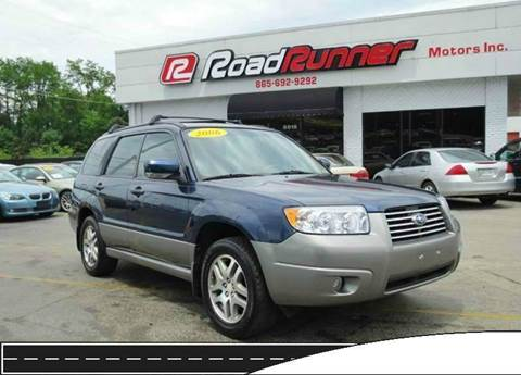 2006 subaru forester for sale in tennessee for City motors knoxville tn