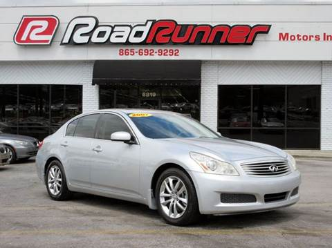 Used Infiniti G35 For Sale In Knoxville Tn
