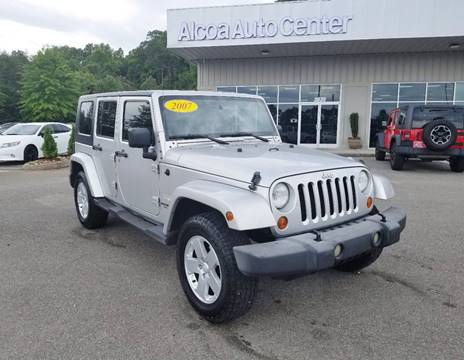 2007 Jeep Wrangler Unlimited for sale in Louisville, TN