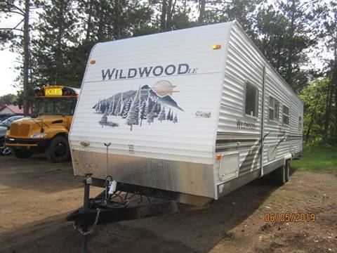 2007 Forest River Wildwood for sale in Menahga, MN