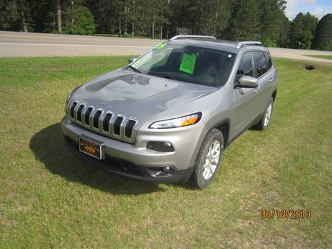2015 Jeep Cherokee for sale in Menahga, MN