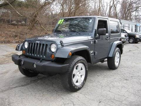 2007 Jeep Wrangler for sale in Lowell, MA