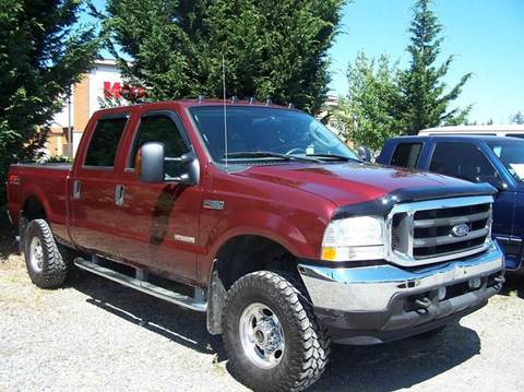 2004 Ford F-350 Super Duty for sale at M & M Auto Sales LLc in Olympia WA