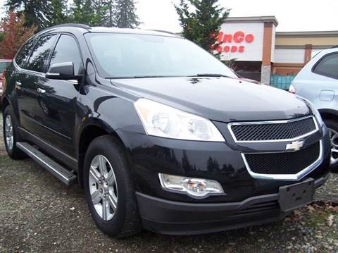 2010 Chevrolet Traverse for sale at M & M Auto Sales LLc in Olympia WA