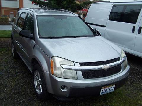 2005 Chevrolet Equinox for sale at M & M Auto Sales LLc in Olympia WA