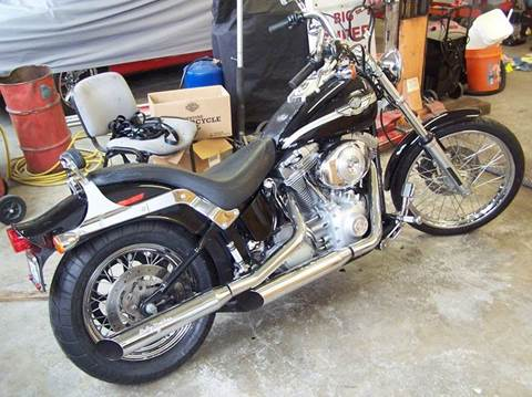 2003 Harley-Davidson Softtail for sale at M & M Auto Sales LLc in Olympia WA
