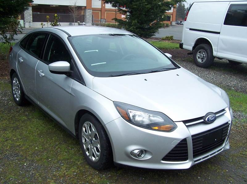 2012 Ford Focus for sale at M & M Auto Sales LLc in Olympia WA