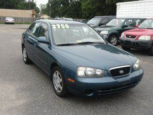 2003 Hyundai Elantra for sale at Liberty Motors in Chesapeake VA