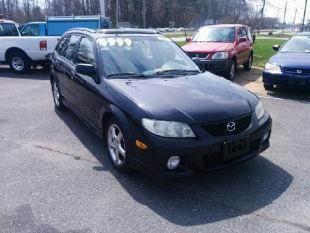 2002 Mazda Protege5 for sale at Liberty Motors in Chesapeake VA