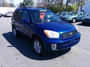 2002 Toyota RAV4 for sale at Liberty Motors in Chesapeake VA