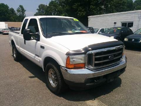 2001 Ford F-250 Super Duty for sale at Liberty Motors in Chesapeake VA